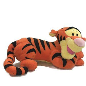 "Disney LARGE 30"" LOUNGING TIGGER Plush Animal"
